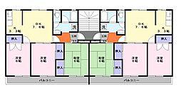 レインボーハウス[3階]の間取り