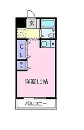 セラヴィ[1階]の間取り