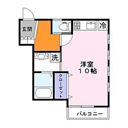 A&Rアネックス[2階]の間取り