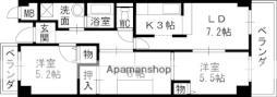 Osaka Metro長堀鶴見緑地線 横堤駅 徒歩7分の賃貸マンション 3階3LDKの間取り