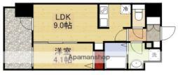 アドバンス新大阪ウエストゲートII 5階1LDKの間取り
