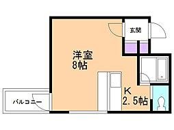 エムズアパートメント[3階]の間取り