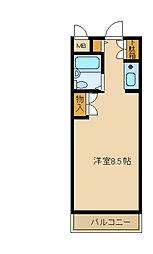 兵庫県尼崎市立花町3丁目の賃貸マンションの間取り