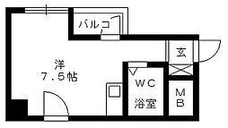 朝日プラザ浜松ステーションスクエア[507号室]の間取り