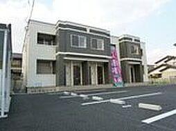栃木県宇都宮市一条3丁目の賃貸アパートの外観