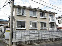 埼玉県上尾市本町4丁目の賃貸アパートの外観