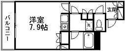 万代アーバン日東[10階]の間取り