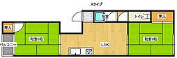 オークミマツマンション[2階]の間取り