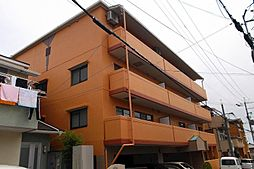 大阪府茨木市郡山2丁目の賃貸マンションの外観