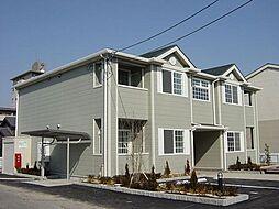 愛知県一宮市今伊勢町馬寄字山島の賃貸アパートの外観