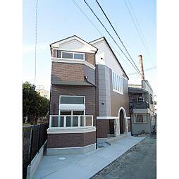 大阪府大阪市東住吉区田辺6丁目の賃貸アパートの外観