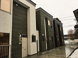 秋田県大仙市大曲若葉町の賃貸アパートの外観