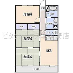 第3原田ビル[2階]の間取り