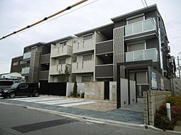 大阪府堺市堺区向陵中町3丁の賃貸アパートの外観