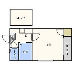 DWELL高取I・春入居可・[101号室号室]の間取り