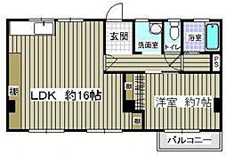 大田ビル[3階]の間取り