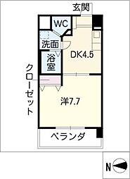 T's Dream名駅[4階]の間取り