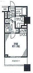 シティータワー横濱[903号室]の間取り