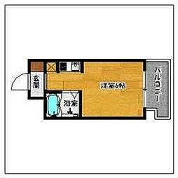エムロード大濠[2階]の間取り
