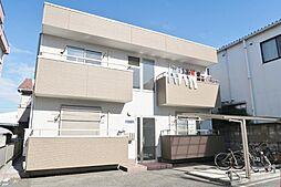 埼玉県川口市南鳩ヶ谷6丁目の賃貸アパートの外観