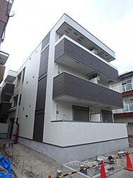 大阪府大阪市平野区瓜破1丁目の賃貸アパートの外観