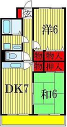 グランメール伊藤[1階]の間取り