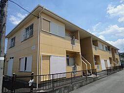 千葉県流山市東初石3丁目の賃貸アパートの外観