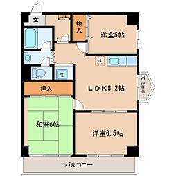 ファーストパレス仙台[5階]の間取り