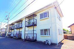 千葉県松戸市新松戸北1の賃貸アパートの外観