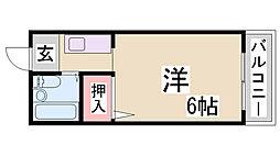 浜谷マンションII[1階]の間取り