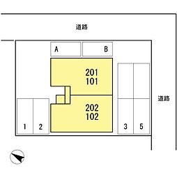 メゾンドスワン[202号室]の外観