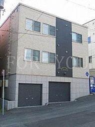 北海道札幌市白石区本通14丁目南の賃貸アパートの外観