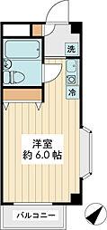 ランディー新浦安[1階]の間取り