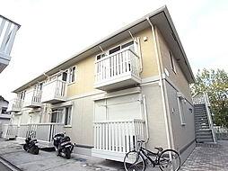 千葉県松戸市河原塚の賃貸アパートの外観