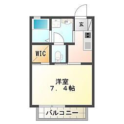 シャーメゾン妙法寺[2階]の間取り