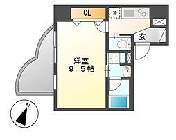 カノン大須[8階]の間取り