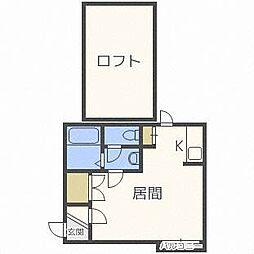 麻生コテージ[2階]の間取り