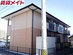 三重県四日市市松本1丁目の賃貸アパートの外観