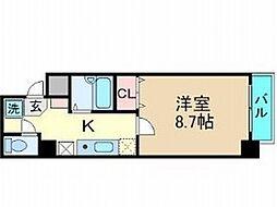 メゾンヤンII[3階]の間取り