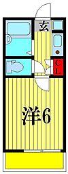 松戸スタンドヒル[2階]の間取り