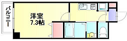 ファインヒローズ[2階]の間取り