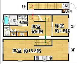 CIK24[2階]の間取り