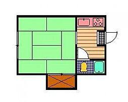 池田アパート[12号室]の間取り