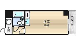 EPO江戸堀レジデンス[9階]の間取り
