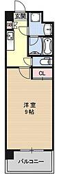 プラネシア星の子京都御所[206号室号室]の間取り