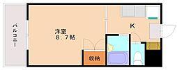 サニーピア柳瀬[4階]の間取り