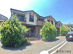 福岡県筑後市大字一条の賃貸アパートの外観
