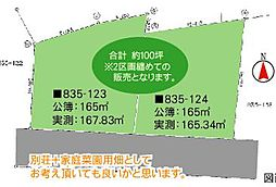 日光市薄井沢 約100坪 即引渡可能