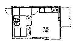 ライフゾーン藤沢[502号室]の間取り