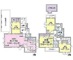 [一戸建] 東京都世田谷区祖師谷4丁目 の賃貸【東京都 / 世田谷区】の間取り